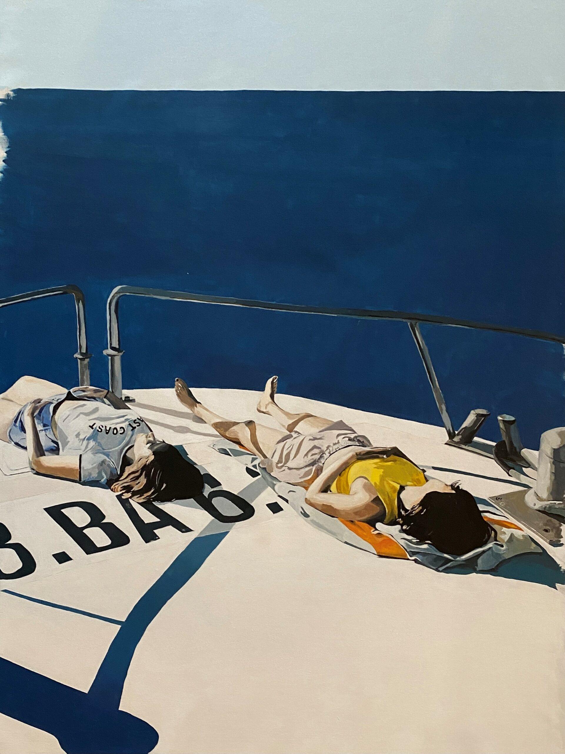 bateau_ponton_fille_soleil_bronzer